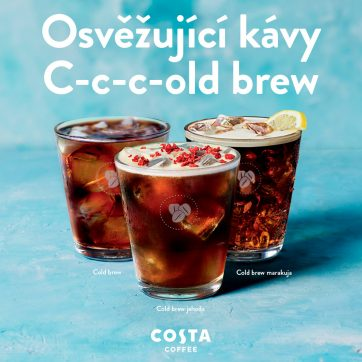 Cold brew v Costa Coffee