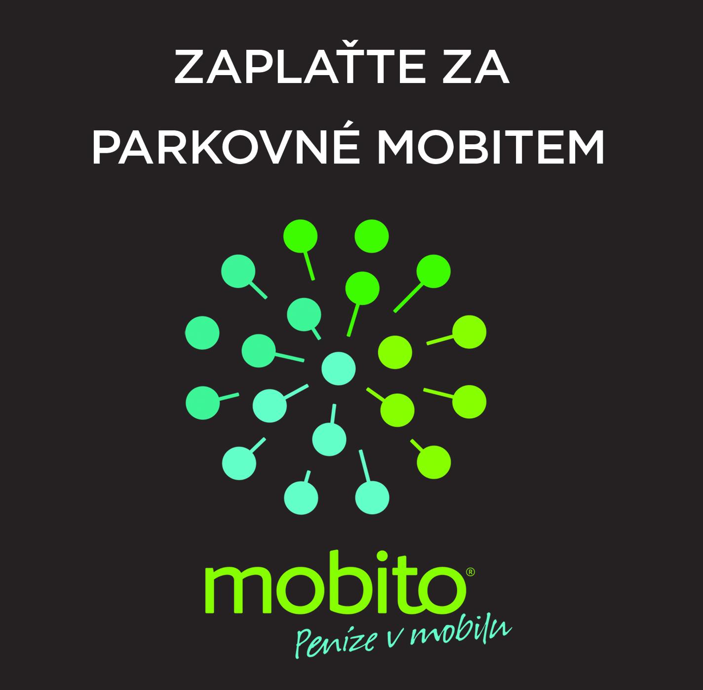 Plaťte u nás za parkovné Mobitem