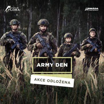 Army den přesunut