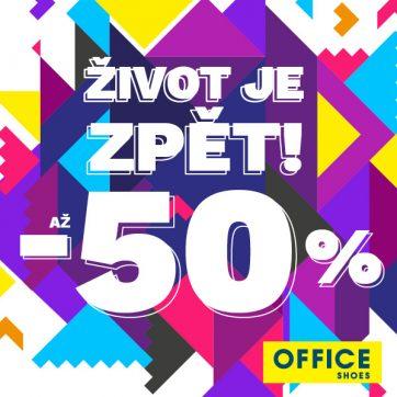 Office Shoes se slevami až -50 %