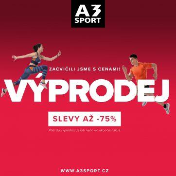 Výprodej A3 sport