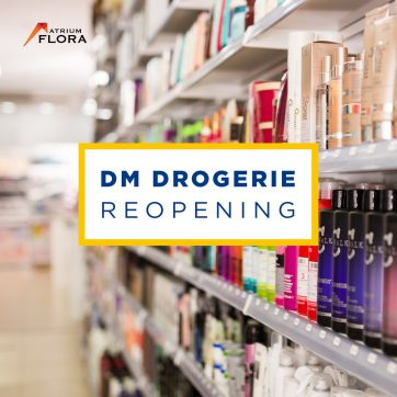 dm drugstore reopened