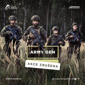 Army den v Atriu Flora se letos neuskuteční