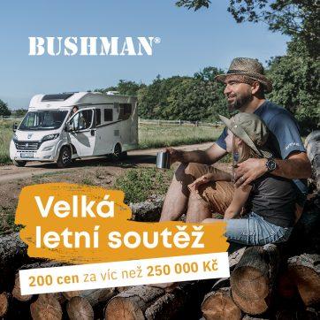 Velká letní soutěž Bushman
