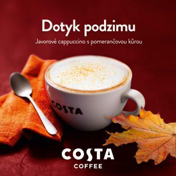 Kávová chuť Kanady v Costa Coffee