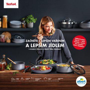 Sběratelská kampaň Tefal v Albertu