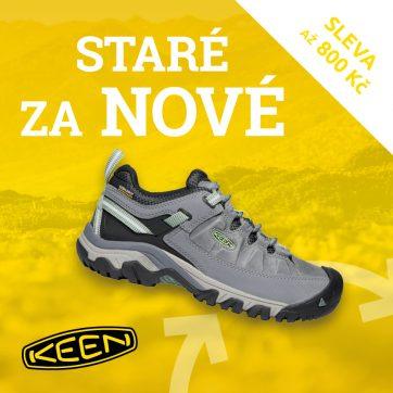 Vyměň staré boty za nové v KEEN