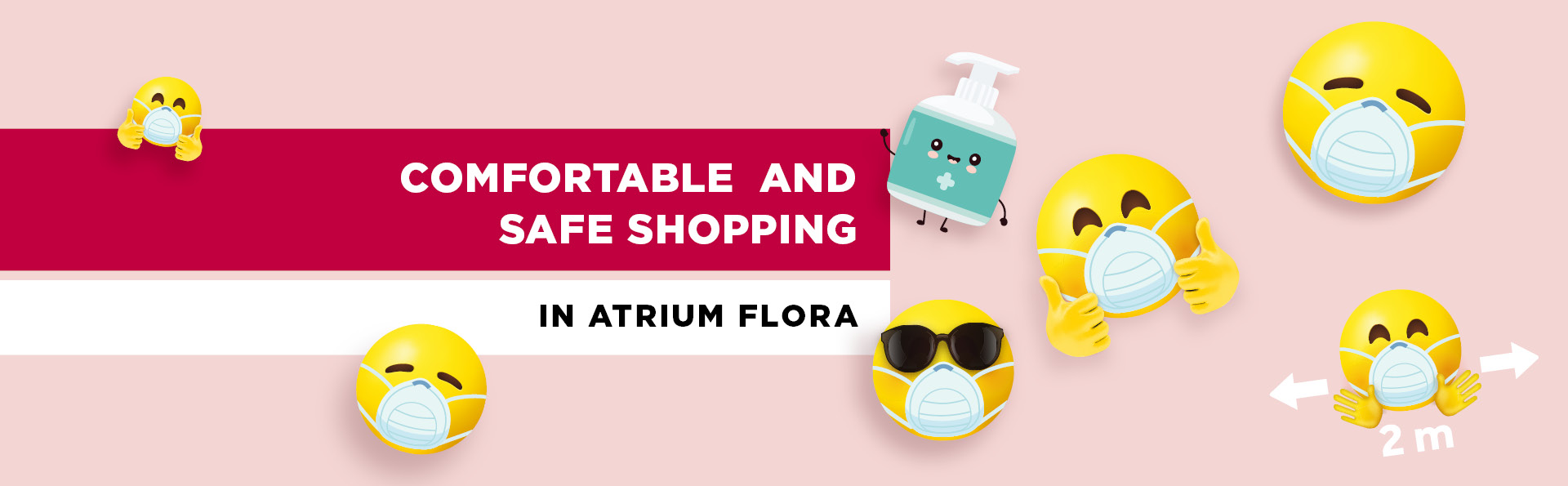 Comfortable and Safe Shopping