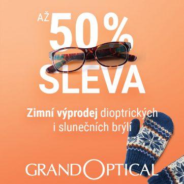 Zimní výprodej v GrandOptical!