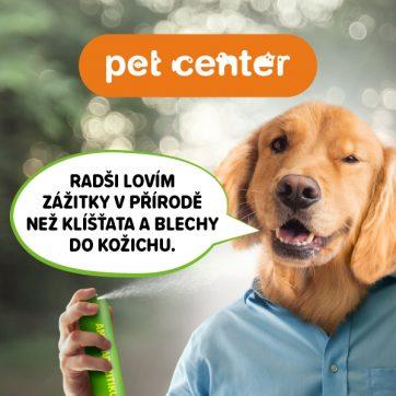 Antiparazitika pro vaše mazlíčky v PetCenter