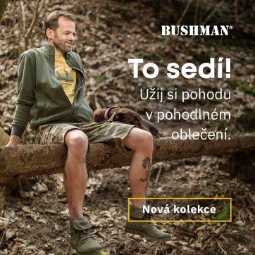Bushman: To sedí!