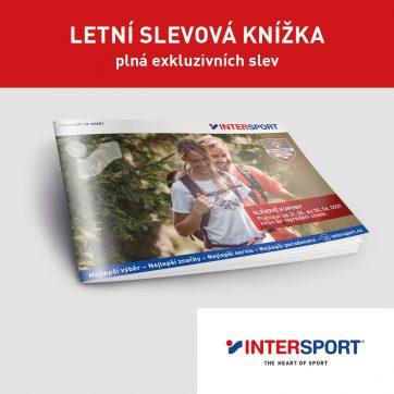 Letní slevová knížka Intersport