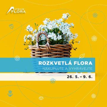 Rozkvetlá Flora: Nakupujte a vyhrávejte