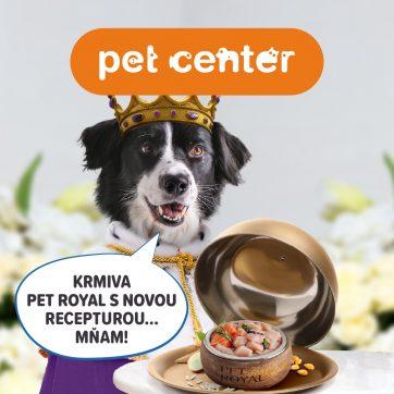Královská hostina v PetCenter