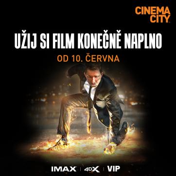 10. června otevírá kino Cinema City