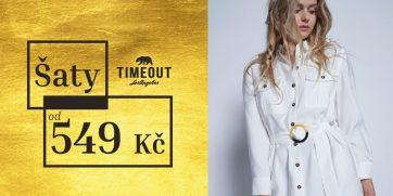 Šaty od 549 Kč v TimeOut