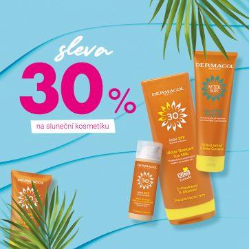 Dermacol: Řada SUN se slevou 30 %
