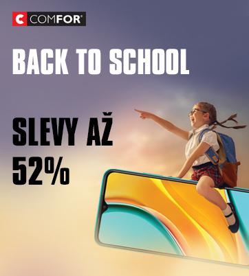 Využijte v Comfor akci Back to school  a nakupte se slevou až 52 %