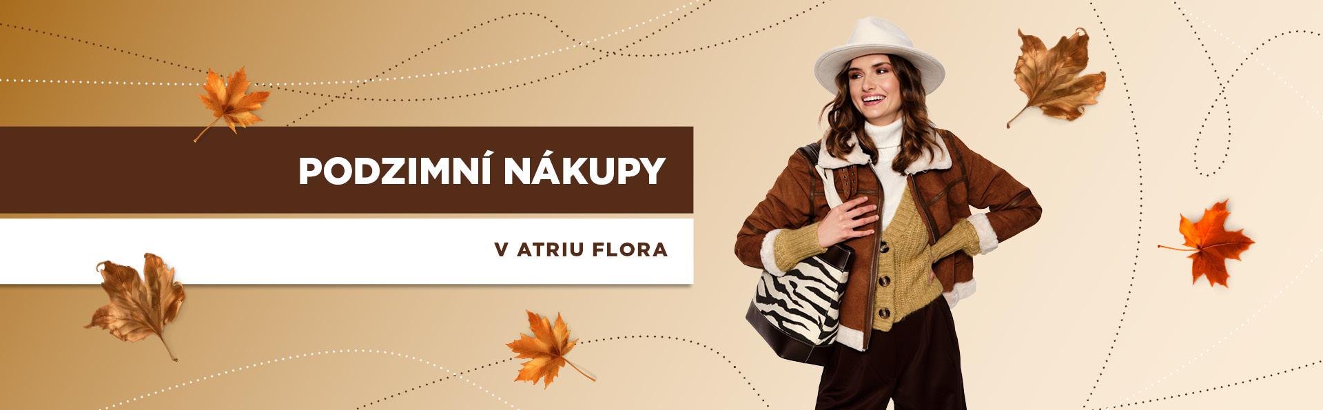 Podzimní nákupy v Atriu Flora